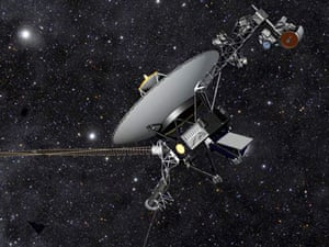 nasa voyager probe in space
