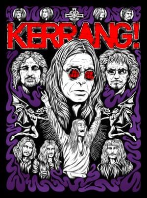 Kerrang covers: Kerrang Black Sabbath