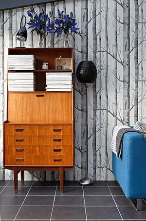Homes - Petra Tyler: cabinet in conservatory