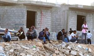 Ethiopians in Riyadh