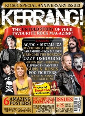 Kerrang covers: Kerrang anniversary 2
