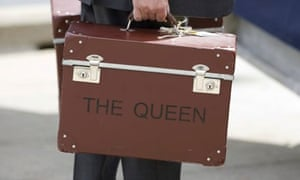 Queen's luggage