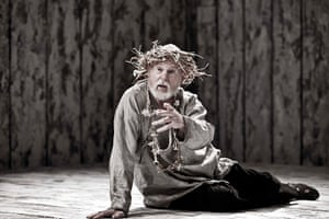 King Lear: Derek Jacobi in Michael Grandage's 2010 production at The Donmar Warehouse