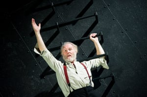 King Lear: Tim Pigott-Smith in the West Yorkshire Playhouse. production, 2011