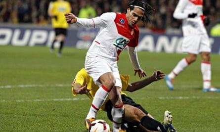 Monaco's Colombian forward Radamel Falca
