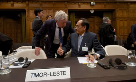 Timor-Leste at the International Court of Justice