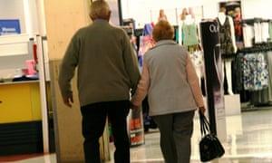 pensioners - Australia's ageing population