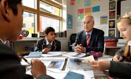 Sir Michael Wilshaw St Paul's Way Trust School visit