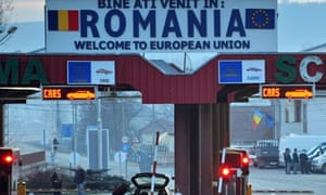 Romanian border crossing point
