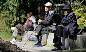 South Korea's rapid economic rise leaves many of its elderly