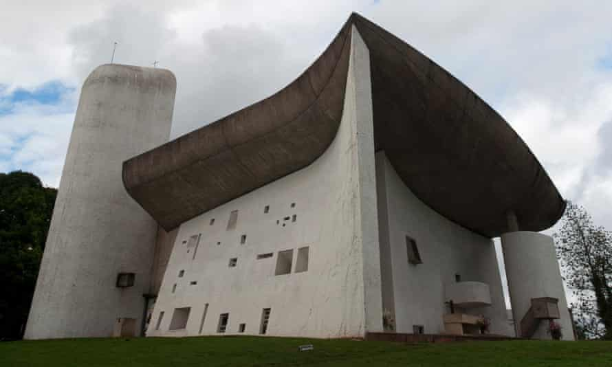 Chapel of contention … Vandalism at Le Corbusier's Notre Dame du Haut in Ronchamp has ignited a row over its management.