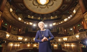 Angela Lansbury at the Gielgud theatre, where she will play Madame Arcati in Blithe Spirit