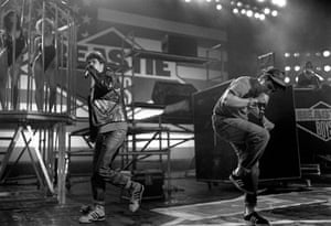 Brixton: The Beastie Boys perform at the Brixton Academy in 1987