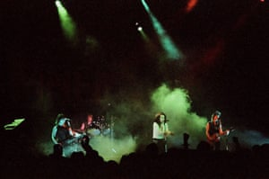 Brixton: The Damned Perform At Brixton Academy In London In 1986