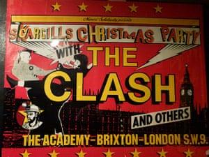 Brixton: Arthur Scargill's Christmas Party poster for the Brixton Academy