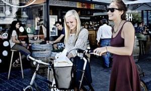 Shopping in torvehallerne market
