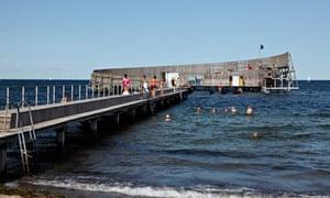 Sneglen bathing pier