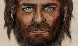 Swarthy Blue Eyed Caveman Revealed Using Dna From Ancient