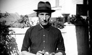 William Burroughs self-portrait