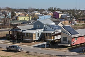 Rebuilding New Orleans: Modern eco-friendly homes in Brad Pitt's Make it Right Foundation