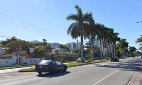 The street in Miami where Justin Bieber was arrested for drunken driving, resisting arrest and driving without a valid license.