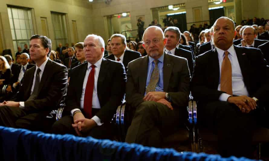 US intelligence chiefs NSA FBI CIA