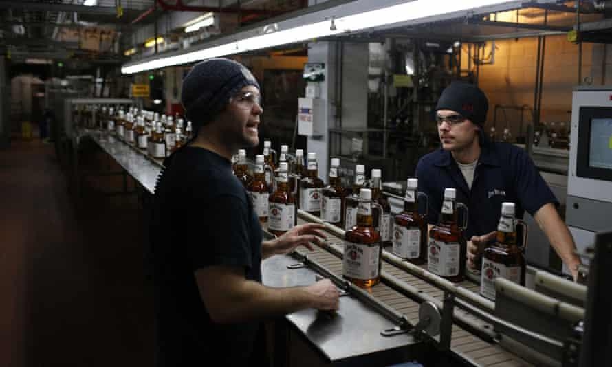 jim beam whiskey distillery kentucky