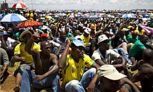 Platinum miners in South Africa go on strike
