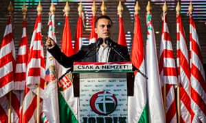 Leader of Hungarian extreme-right party warned over protests for UK visit