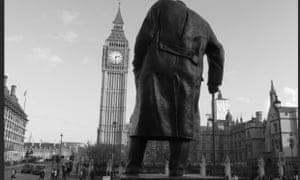 Winston Churchill's statue in Parliament Square