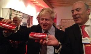 Boris Johnson Muhtar Kent