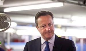 David Cameron in Crawly