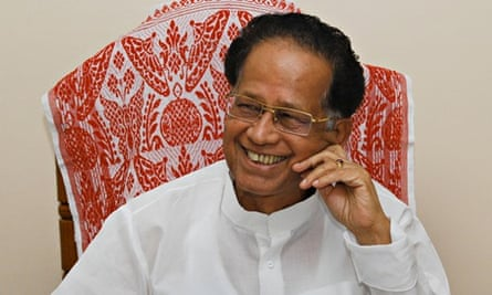 Chief Minister of Assam, Tarun Gogoi