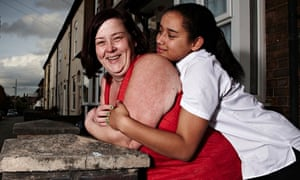 Benefits Street, White Dee and her Caitlin