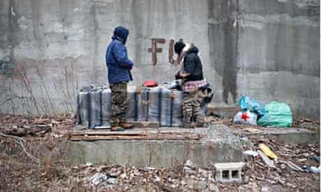 homeless addicts new york city