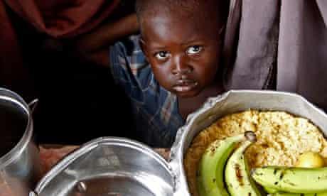 food distribution in Mogadishu