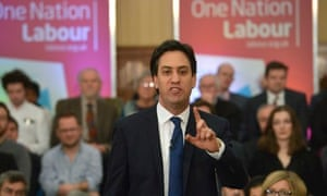 Labour Party Leader Ed Miliband Delivers Speech On The Economy In London