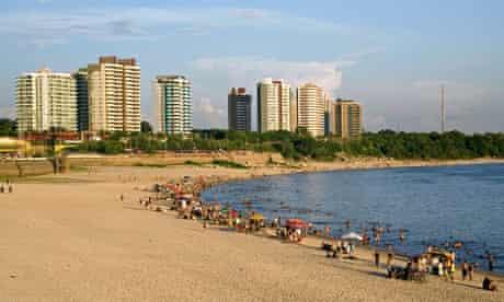 Ponta Negra beach, Manaus