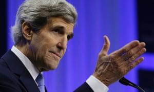 John Kerry in Davos
