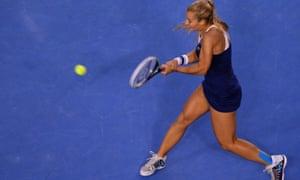 Dominika Cibulkova hits back.