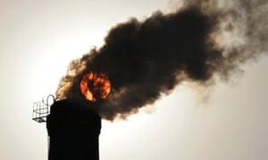 The carbon bubble.
