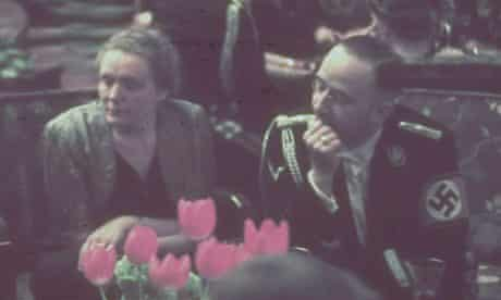 Heinrich Himmler and his wife Margarete at a Nazi party reception