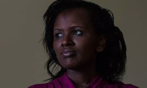 Sophie Musabe Masereka, a survivor of the Rwandan genocide