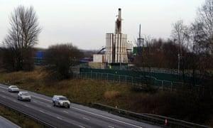 Fracking at Barton Moss