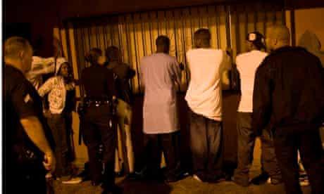 Street gang in LA