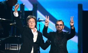 Paul McCartney and Ringo Starr reunited to rock the house in collaboration with Foo Fighters frontman Dave Grohl.