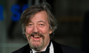 Stephen fry with a beard
