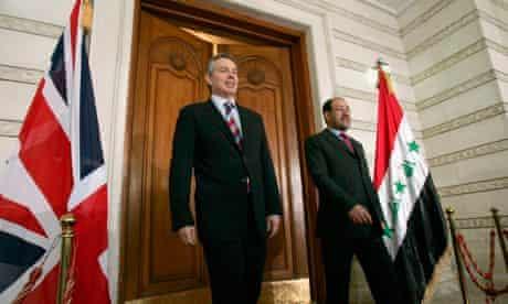 Tony Blair and Nouri al-Maliki