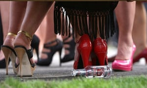 High heels at Aintree for the Grand National