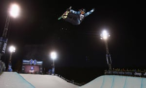 Kelly Clark won the women's Snowboard Superpipe at the Winter X-Games at Buttermilk Mountain, Aspen, Colorado
